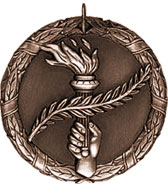 Bronze Olympic Torch Medal